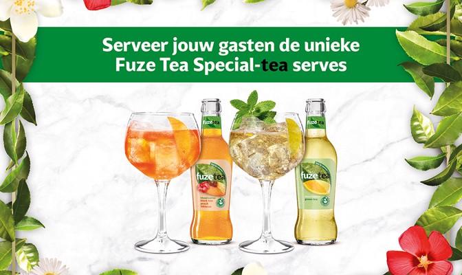 Fuze Tea Special-tea serves!