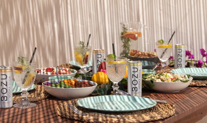 Bozu Vodka Soda: Hard Seltzer