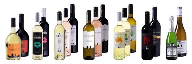 Uniek binnen ons assortiment: de wijnen van Astrid Joosten en Thérèse Boer. Wij stellen u graag deze creaties voor.