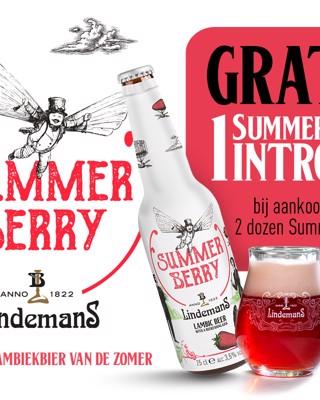 Ontvang nu een gratis Lindemans Summerberry introkit!