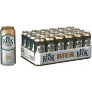 De Klok Bier blik tray 24x0,50L