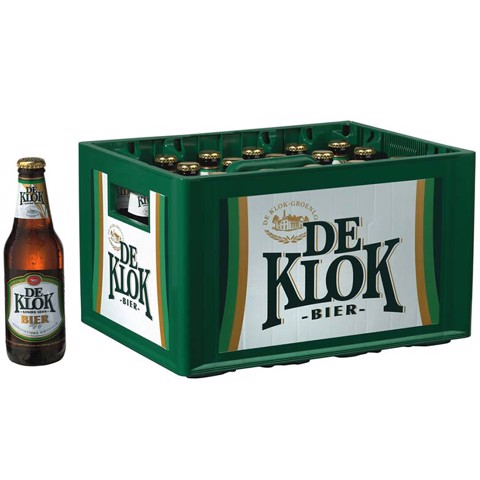 De Klok Bier krat 24x0,30L