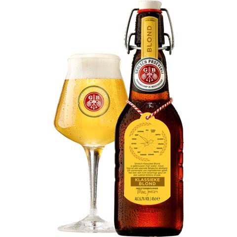 Grolsch Blond Beugel       krat 16x0,45L