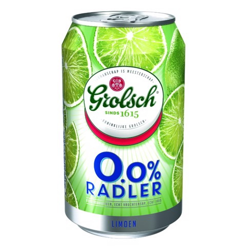 Grolsch Radler Limoen 0.0% blik tray 24x0,33L