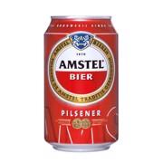 Amstel Pils blik tray 4x6x0,33L
