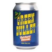 Two Chefs Green Bullet blik  doos 24x0,33L