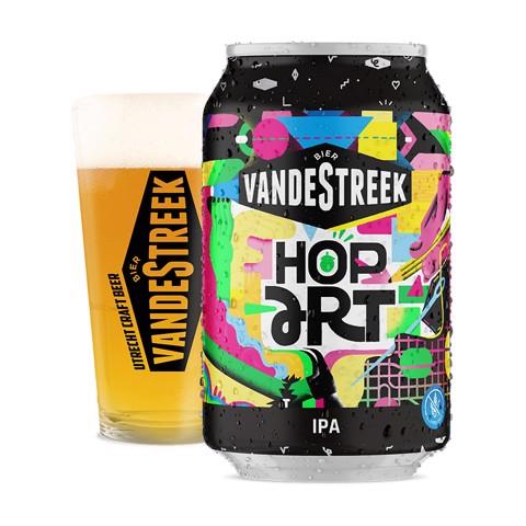VandeStreek Hop Art blik doos 24x0,33L