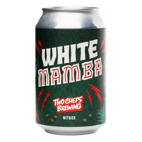 Two Chefs White Mamba blik doos 24x0,33L