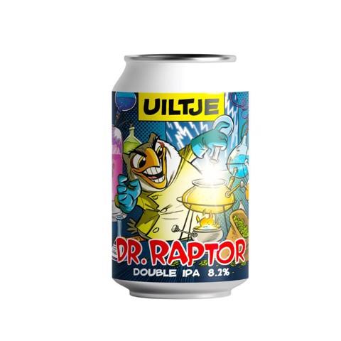 Uiltje Dr. Raptor blik     doos 12x0,33L