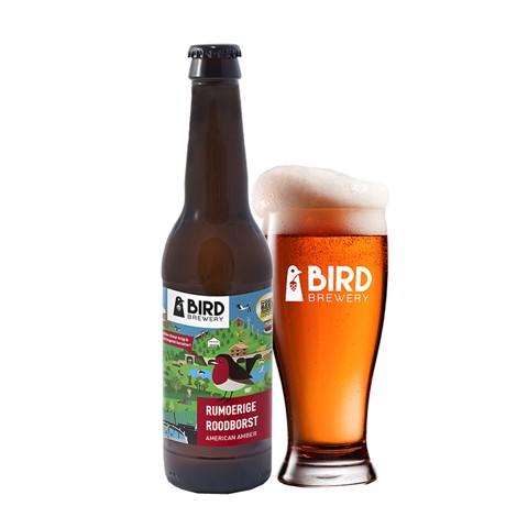 Bird Rumoerige Roodborst doos 24x0,33L