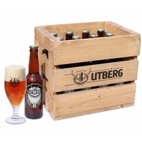Utberg Special Pale Ale houtenkrat 12x0,33L