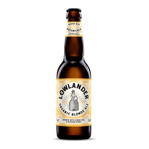 Lowlander Organic Blonde Ale doos 12x0,33L