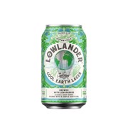 Lowlander Cool Earth Lager blik tray 24x0,33L