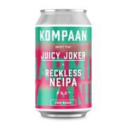Kompaan Juicy Joker NEIPA blik   doos 12x0,33L