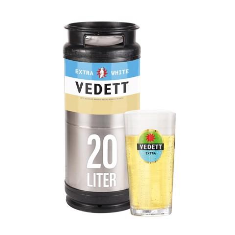 Vedett Extra White fust 20L