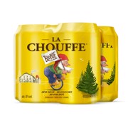La Chouffe blik           tray 6x4x0,33L