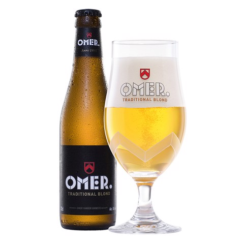 Omer Traditional Blond krat 24x0,33L