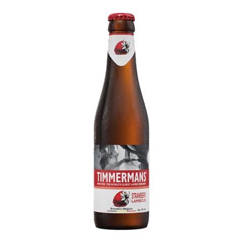 Timmermans Aardbei doos 12x0,33L