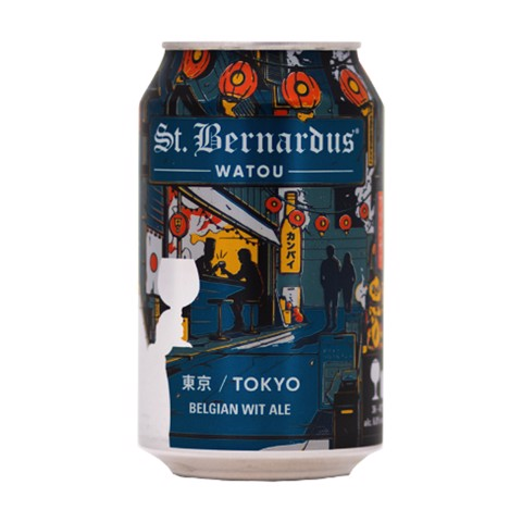St. Bernardus Tokyo blik  doos 6x4x0,33L