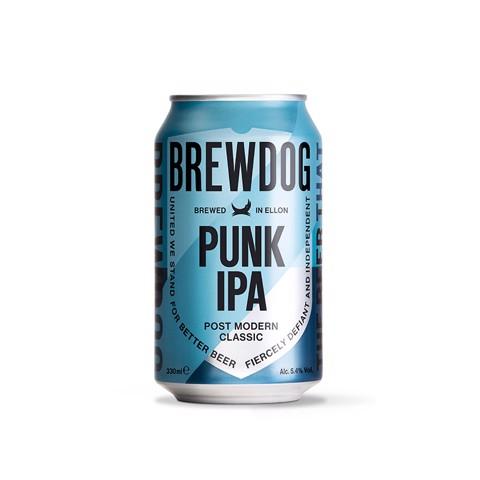 Brewdog Punk IPA blik tray 24x0,33L
