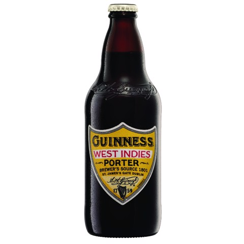 Guinness West Indies Porter tray 12x0,50L