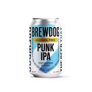 Brewdog Punk Alcohol Free IPA 0,5% blik tray 24x0,33L