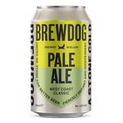 Brewdog Pale Ale blik     tray 6x4x0,33L