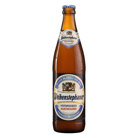 Weihenstephaner Hefe Weissbier Alcoholfrei 0,5% krat 20x0,50L