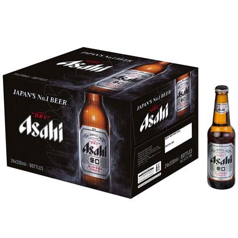 Asahi Super Dry doos 24x0,33L
