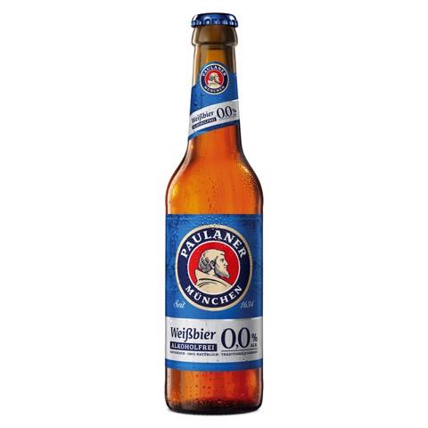 Paulaner Hefe Weissbier Alkoholfrei krat 24x0,33L