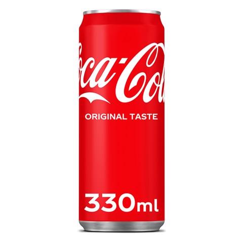 Coca-Cola Regular blik tray 24x0,33L
