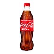 Coca-Cola Regular PET tray 24x0,50L
