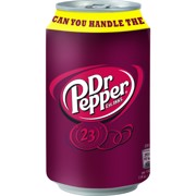 Dr. Pepper Regular blik    tray 24x0,33L