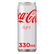 Coca-Cola Light blik tray 24x0,33L
