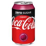 Coca-Cola Zero Cherry blik tray 4x6x0,33L