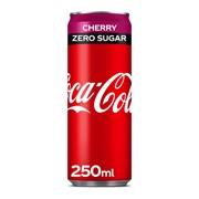 Coca-Cola Zero Cherry blik tray 4x6x0,25L