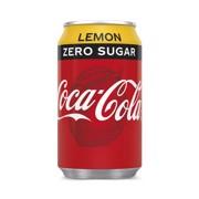 Coca-Cola Zero Lemon blik tray 12x0,33L