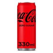 Coca-Cola Zero blik tray 24x0,33L