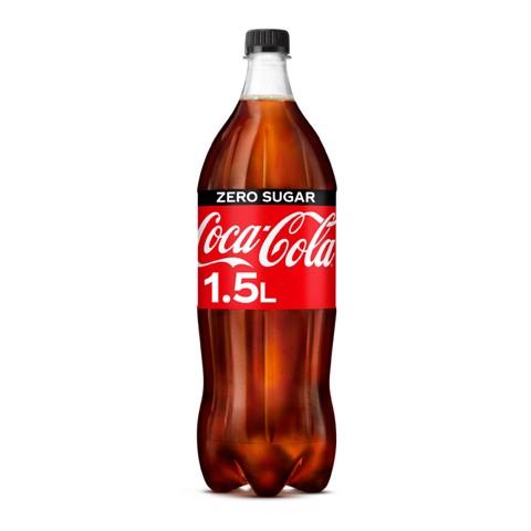 Coca-Cola Zero PET tray 6x1,50L
