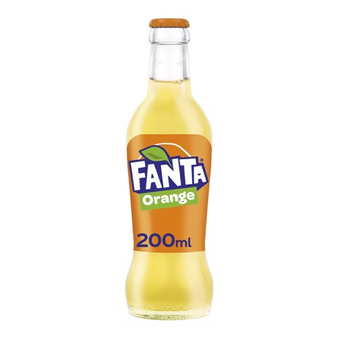 Fanta Orange               krat 24x0,20L
