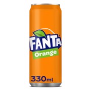 Fanta Orange blik          tray 24x0,33L