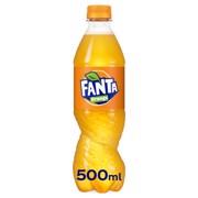 Fanta Orange PET           tray 12x0,50L