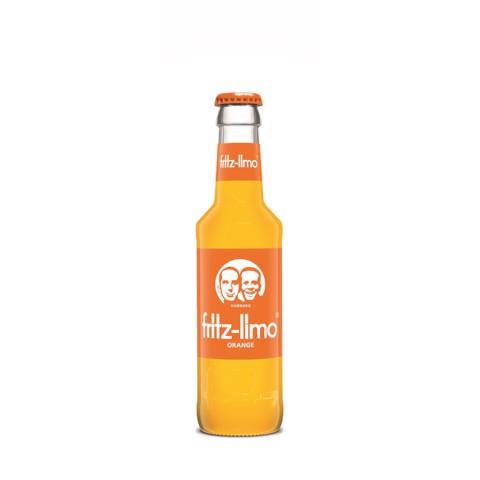 Fritz-Limo Orangen         krat 24x0,20L