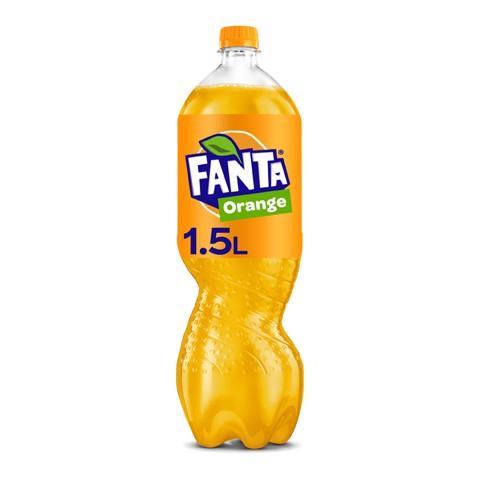 Fanta Orange PET           tray 12x1,50L