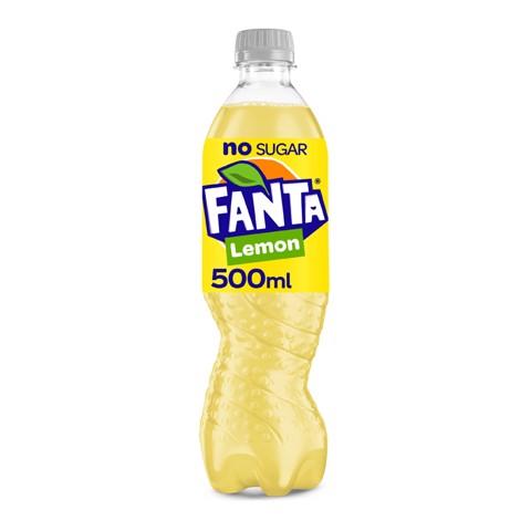 Fanta Zero Lemon PET       tray 12x0,50L