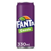 Fanta Cassis blik          tray 24x0,33L