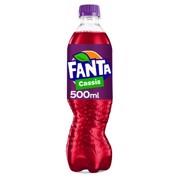 Fanta Cassis PET           tray 12x0,50L