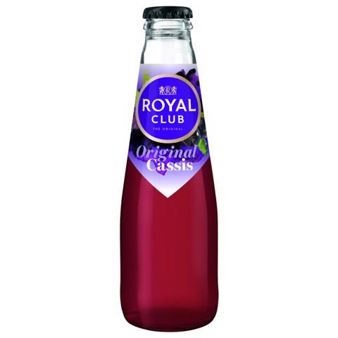 Royal Club Cassis Regular  krat 28x0,20L