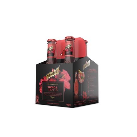 Schweppes Premium Hibiscus doos 24x0,20L