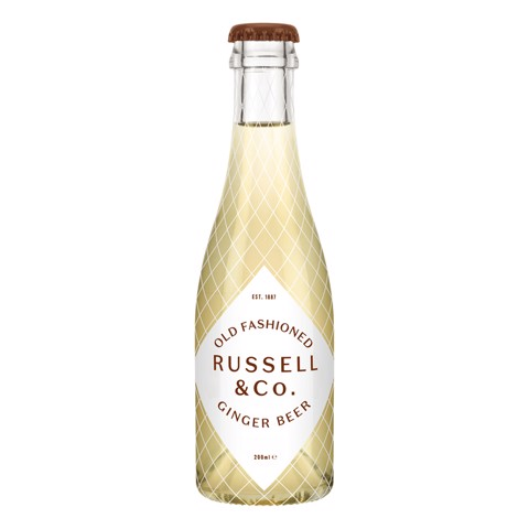Russell & Co Ginger beer    doos 24x0,20L